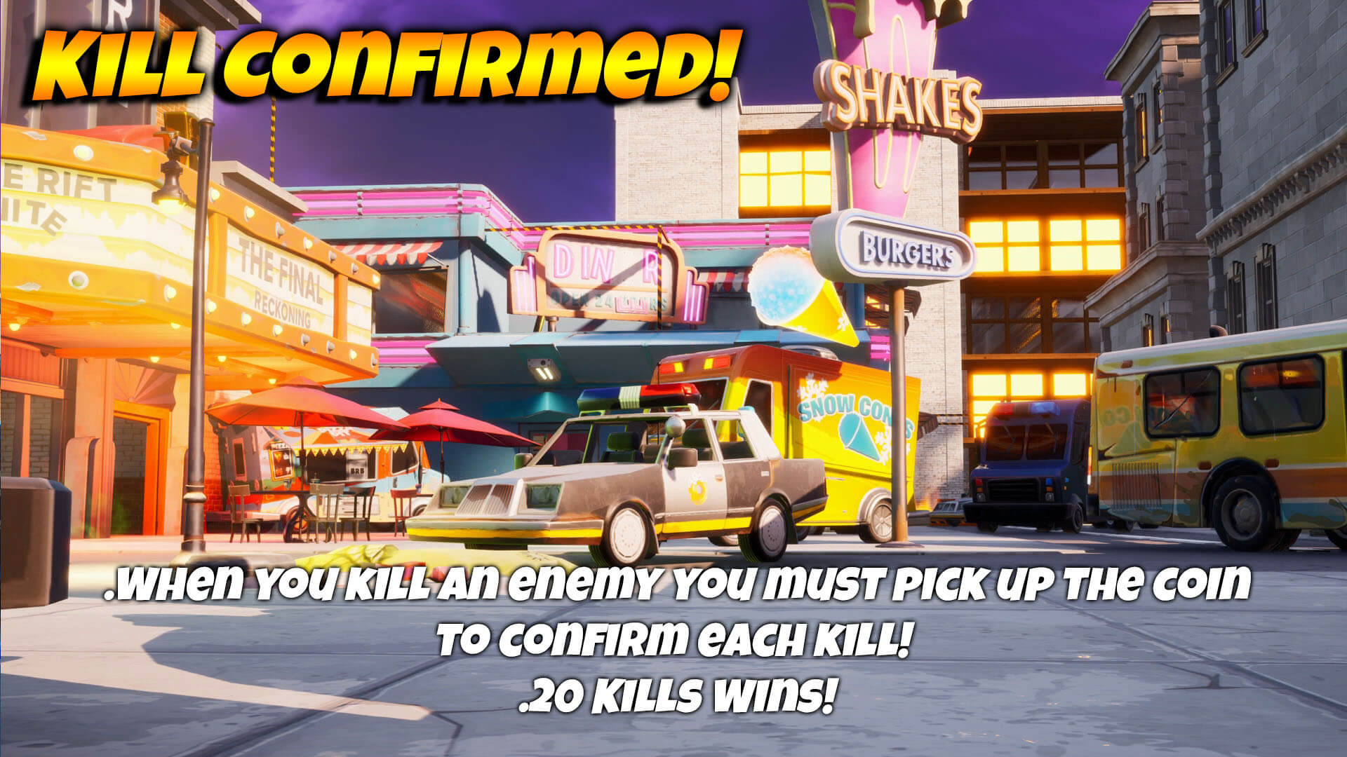KILL CONFIRMED! - CYNICAL CITY!
