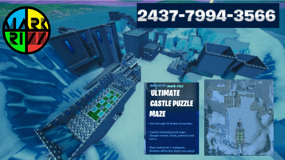 ULTIMATE CASTLE PUZZLE MAZE