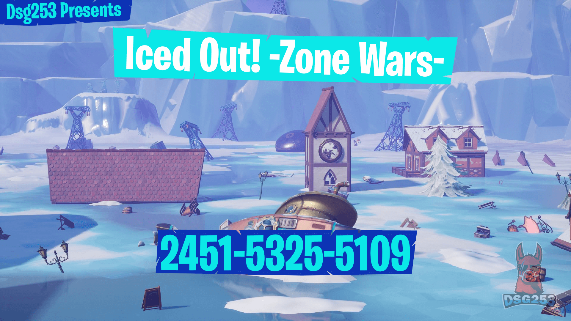ICED OUT! -ZONE WARS- BY DSG253