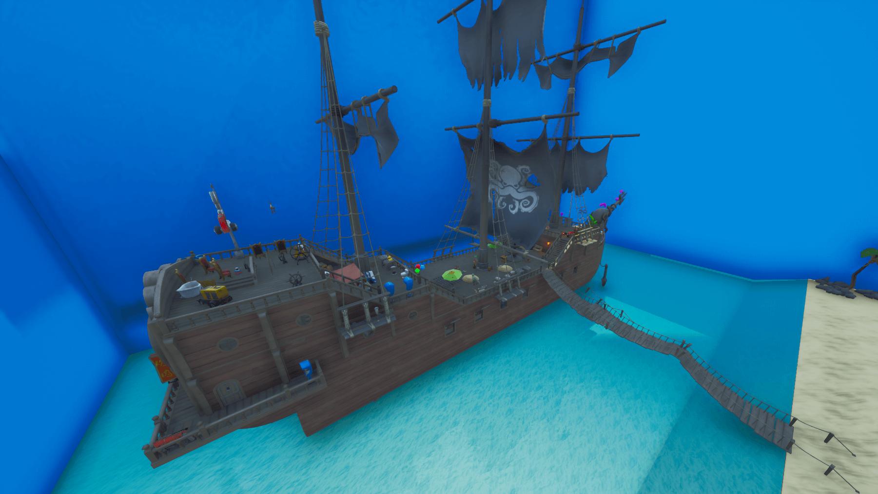 Prop Hunt Pirate Ship Fortnite Creative Map Codes