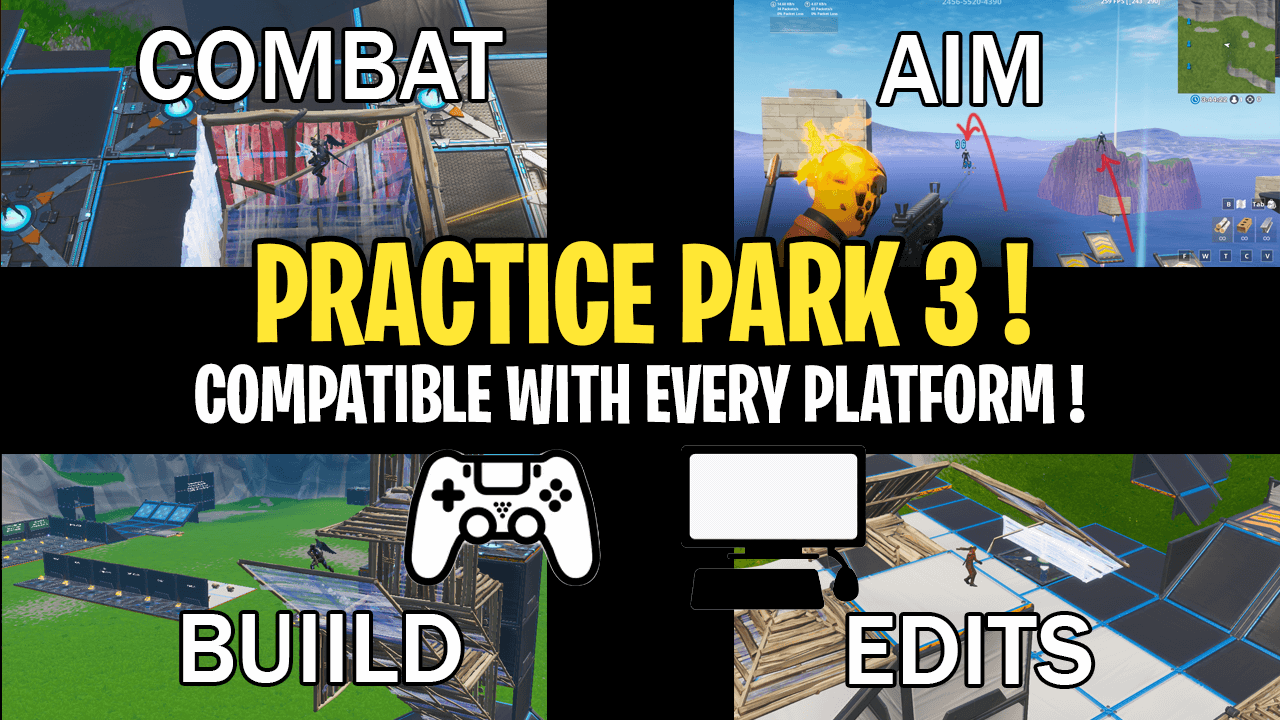 PRACTICE PARK - TRAIN BUILD, EDIT, AIM