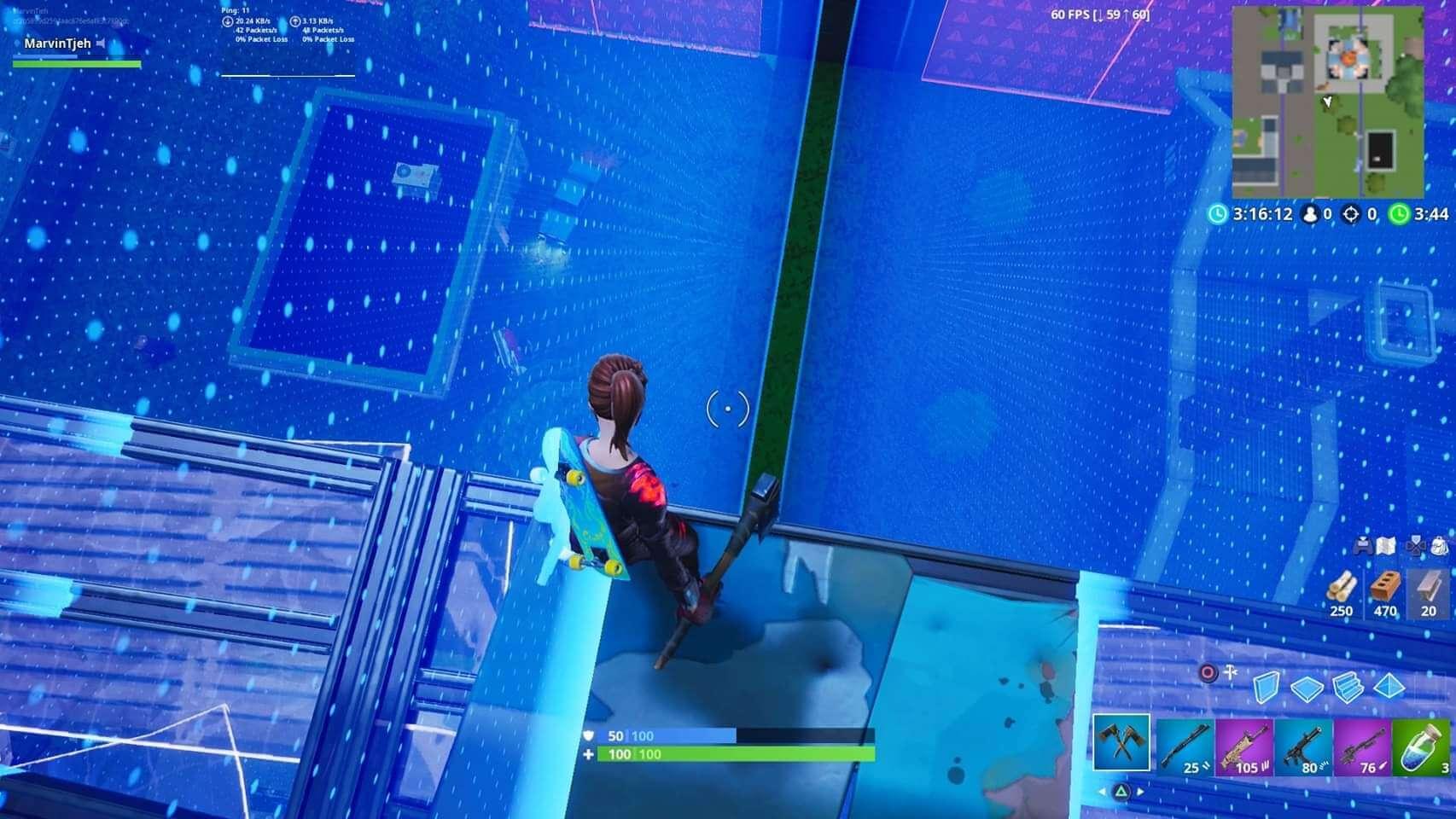 Fortnite Scrims Simulator Ffa Scrims With Ticking Zones V1 Fortnite Creative Map Code Dropnite
