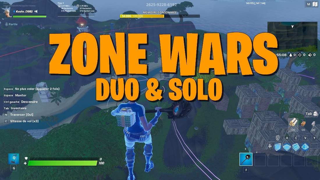 SOLO/DUO MOVING ZONE WARS (ENDGAME)