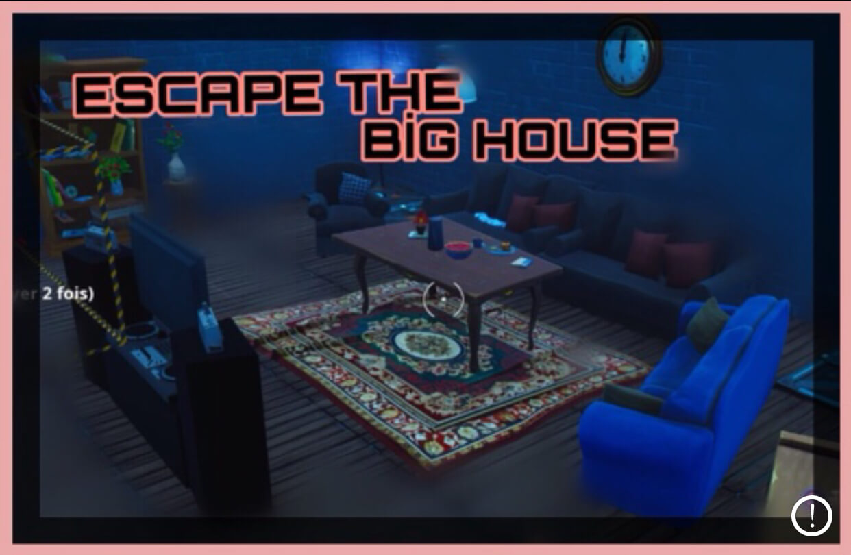 ESCAPE THE BIG HOUSE