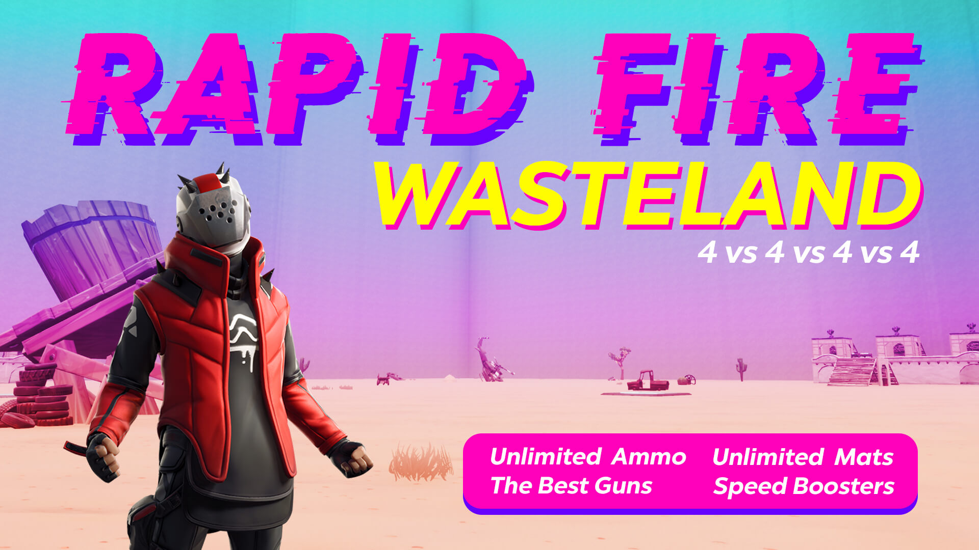 RAPID FIRE WASTELAND