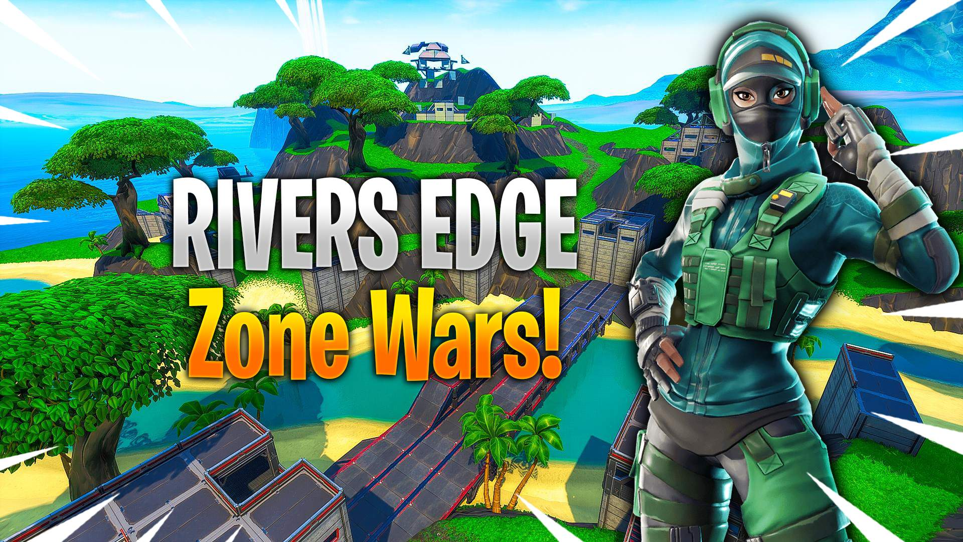 RIVERS EDGE ZONE WARS WITH ARENA SCORING