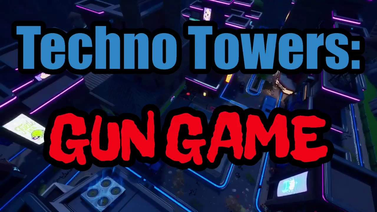 TECHNO TOWERS: GUN GAME