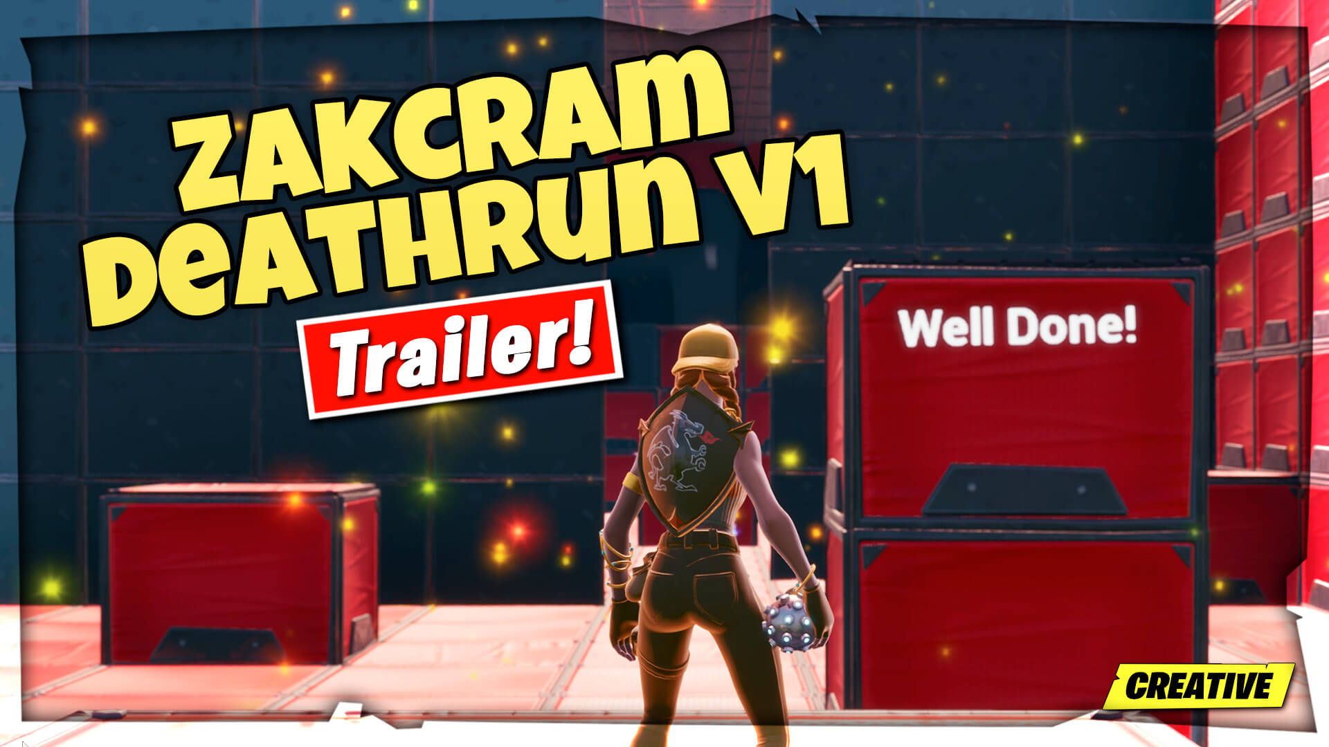 ZAKCRAM - DEATHRUN V1 - Fortnite Creative Codes - Dropnite com