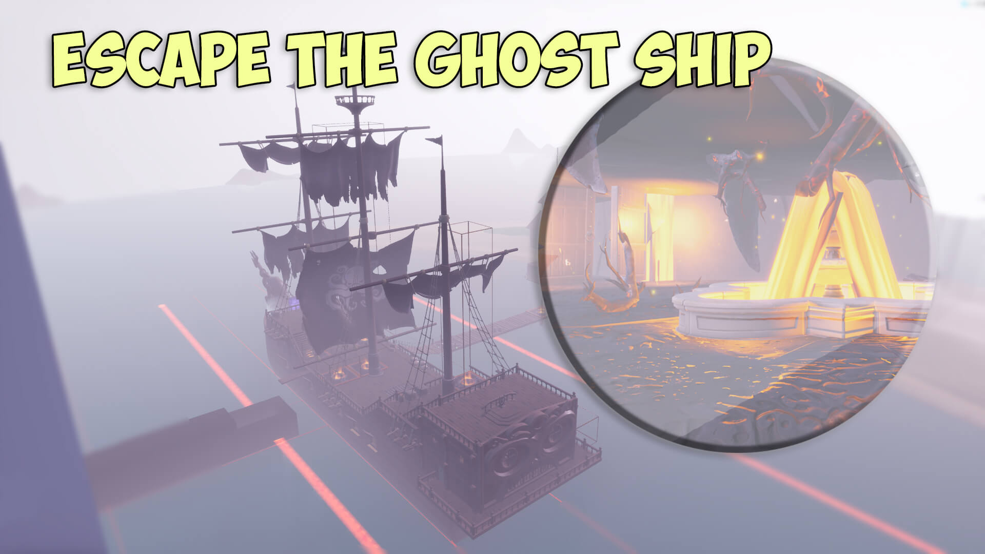 ESCAPE THE GHOST SHIP.