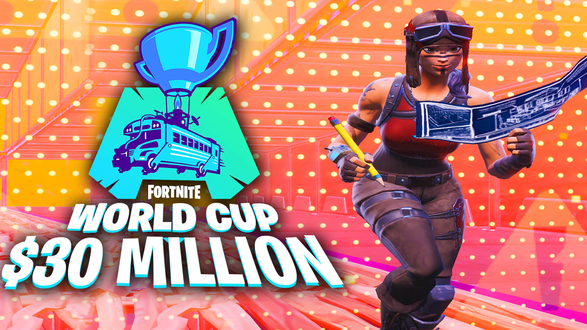 FORTNITE WORLD CUP EDIT COURSE