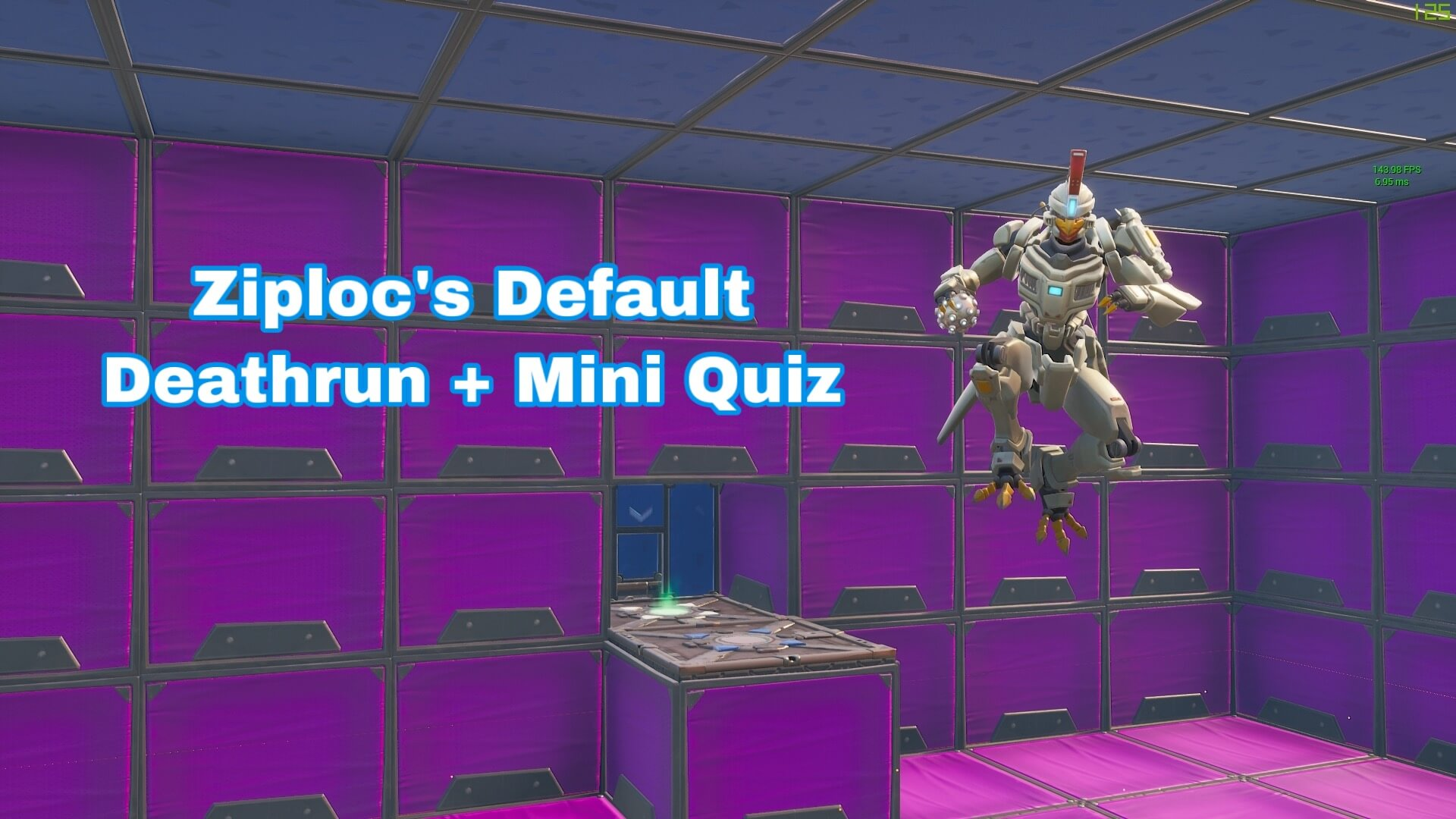 ZIPLOC'S DEFAULT DEATHRUN + MINI QUIZ