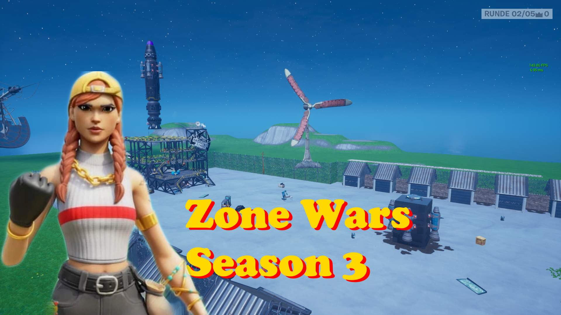 ROCKET START ZONE WARS SEASON 3