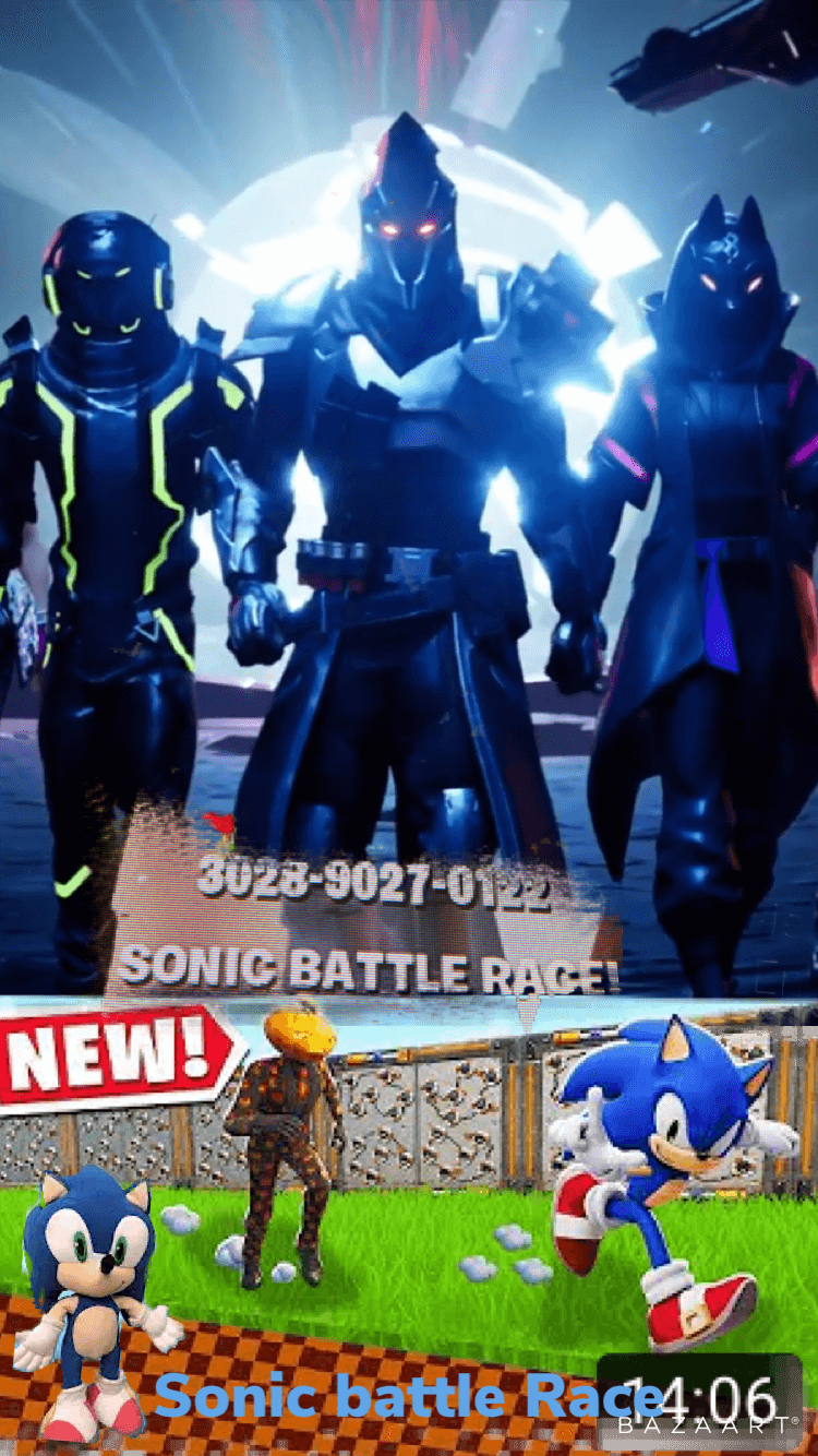 SONIC BATTLE RACE!