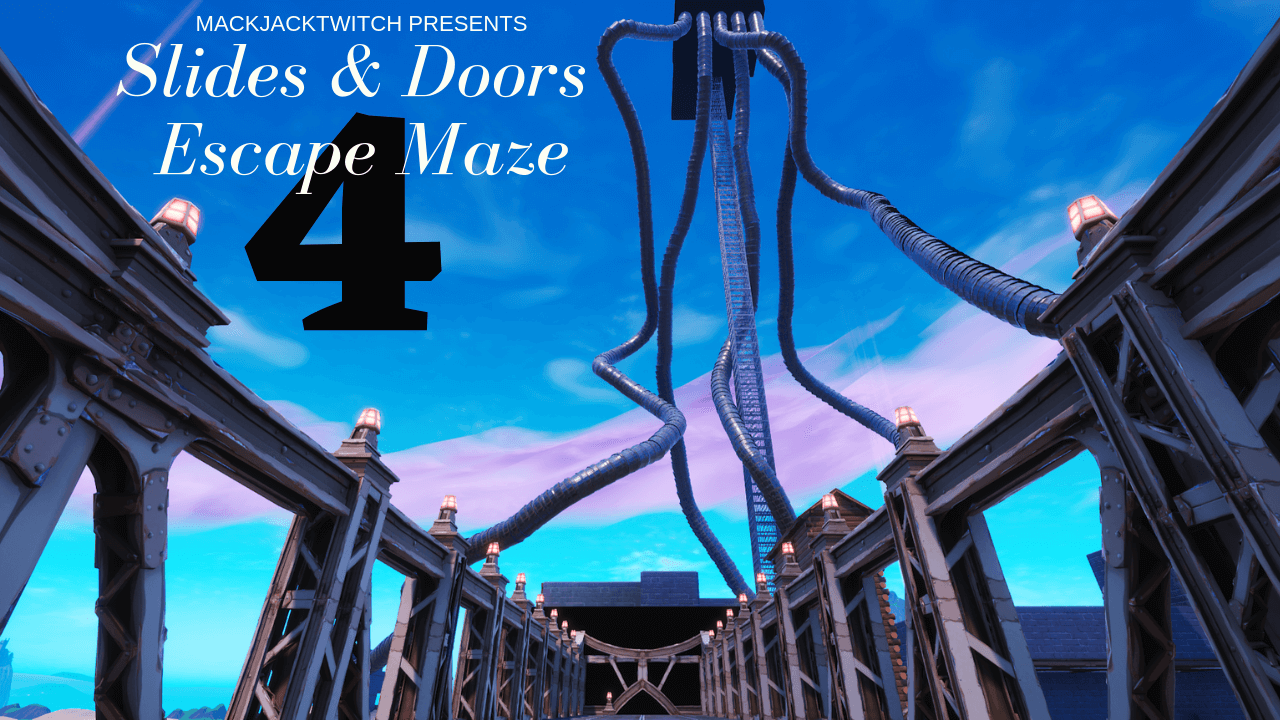 SLIDES & DOORS ESCAPE MAZE 4