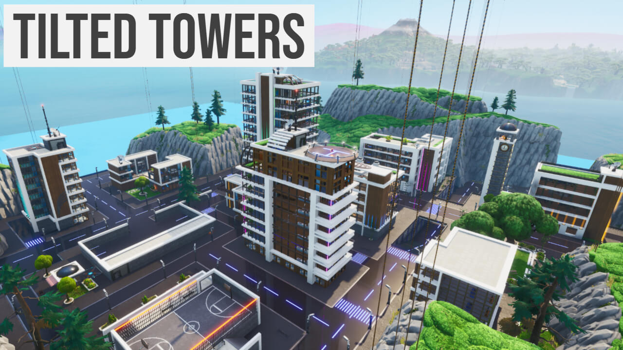 TILTED TOWERS ( COLLECT THE COINS FFA )