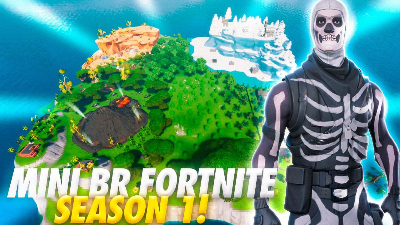 MINI BR FORTNITE SEASON 1
