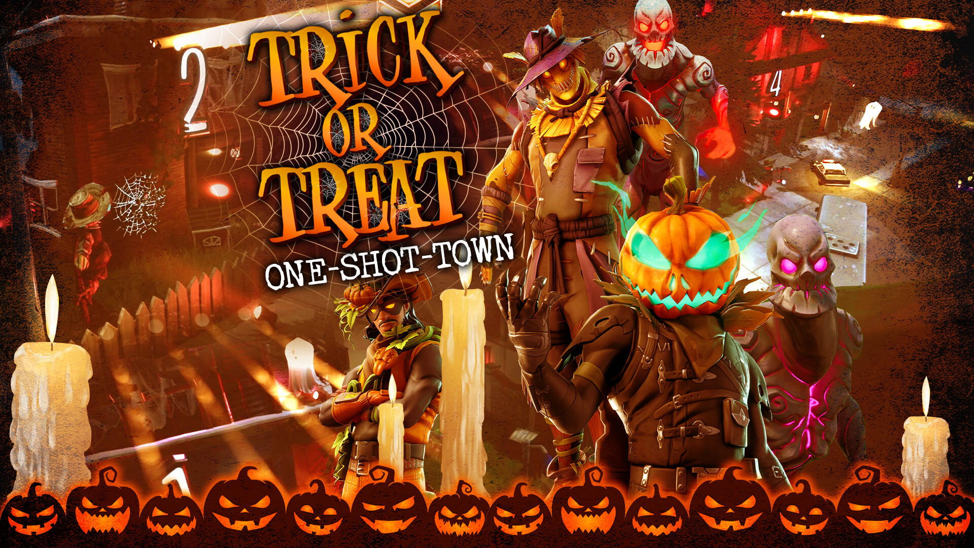 TRICK OR TREAT: ONE-SHOT-TOWN