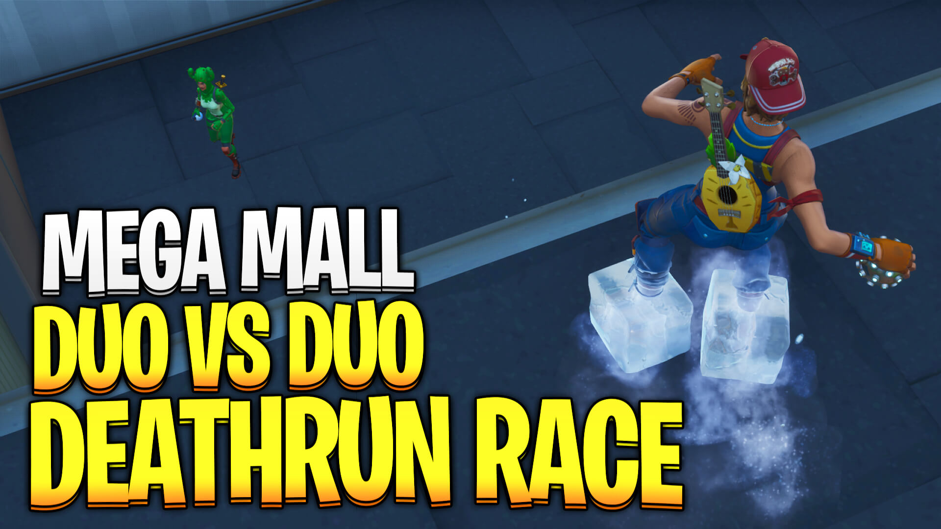 MEGA MALL DUO VS DUO DEATHRUN RACE