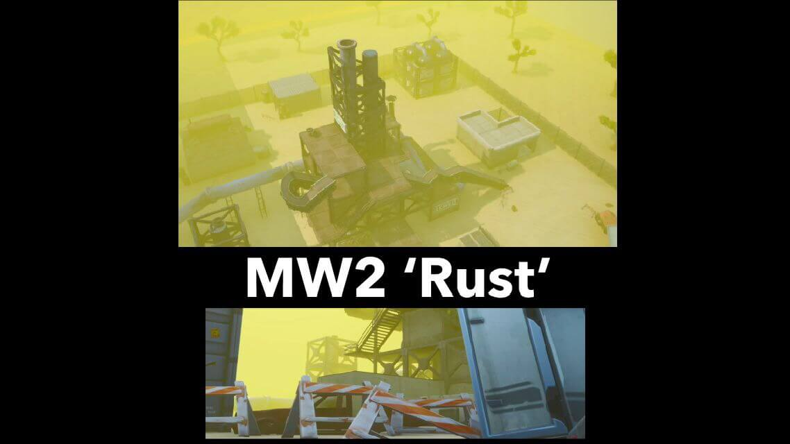 RUST FROM MW2 ALPACA REMAKE (SNIPER FFA)