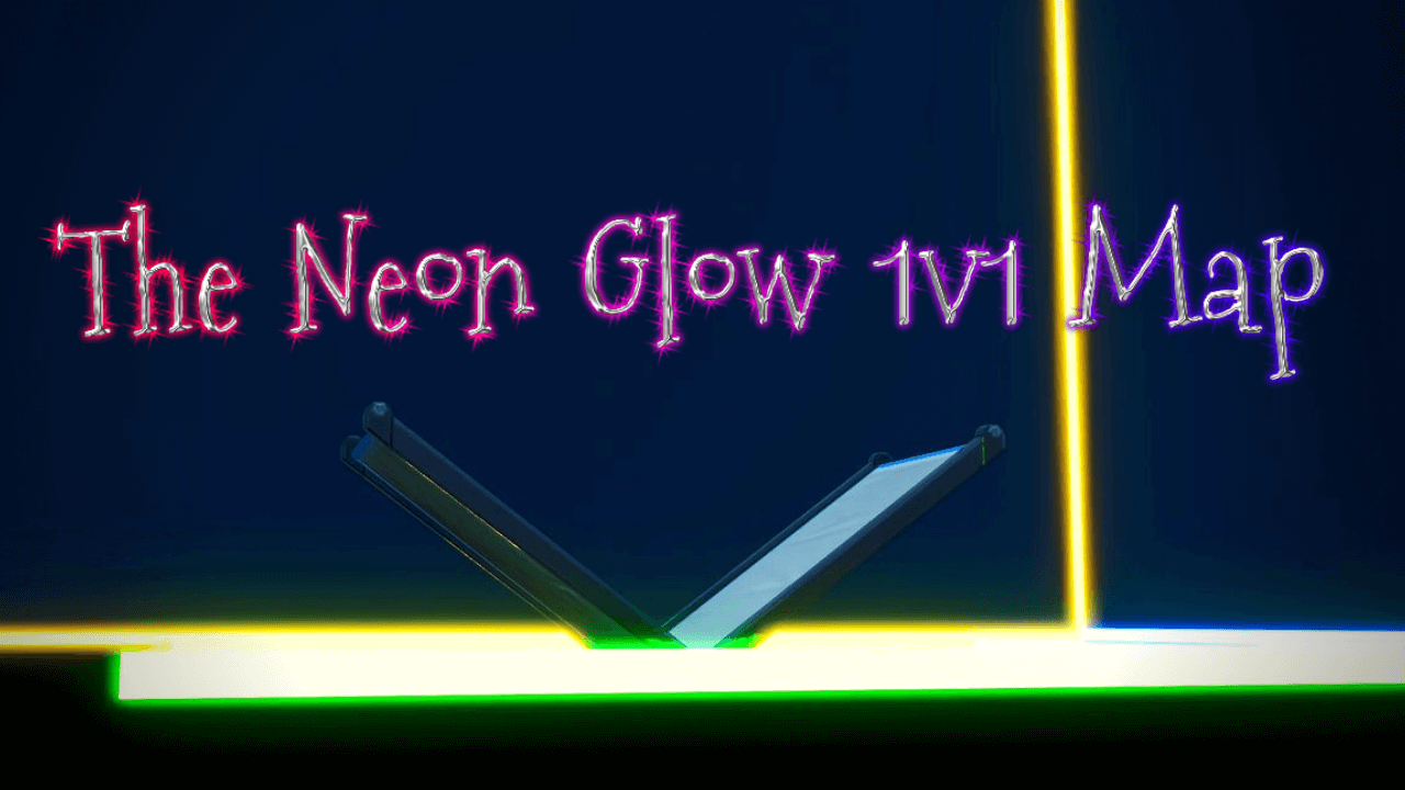 NEON GLOW 1V1 MAP