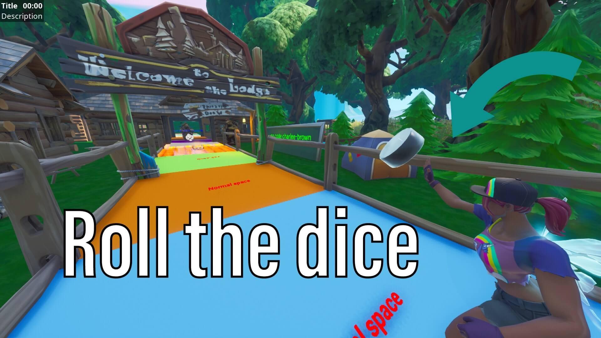 Giant Island Board Game And Battle Fortnite Creative Map