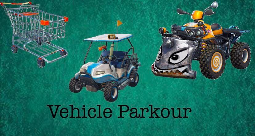 Vehicle Parkour Fortnite Creative Map Codes Dropnite Com