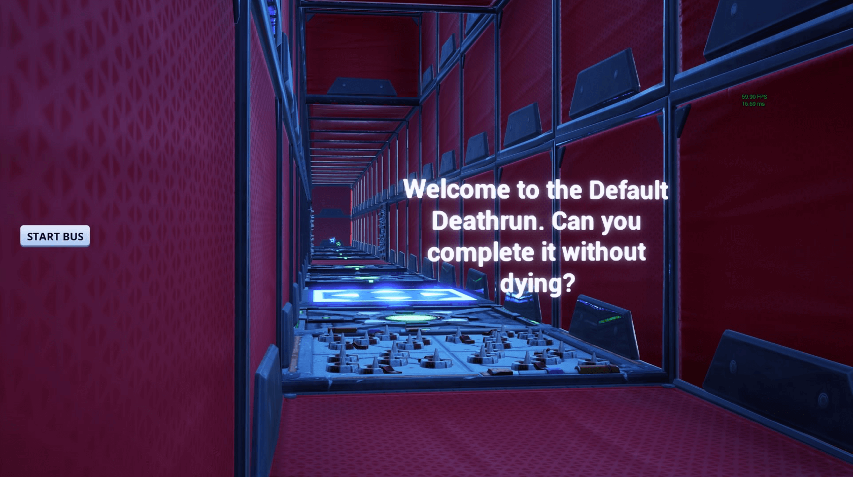 THE BEST DEFAULT DEATHRUN!