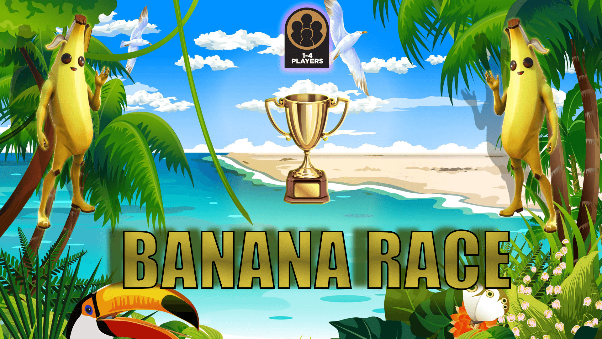 BANANA RACE (1-4 PLAYERS)
