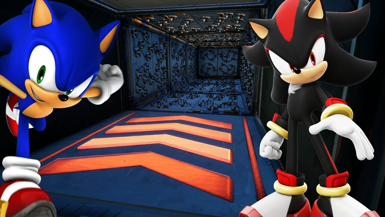*SONIC* DEATHRUN PARKOUR *SPEED*