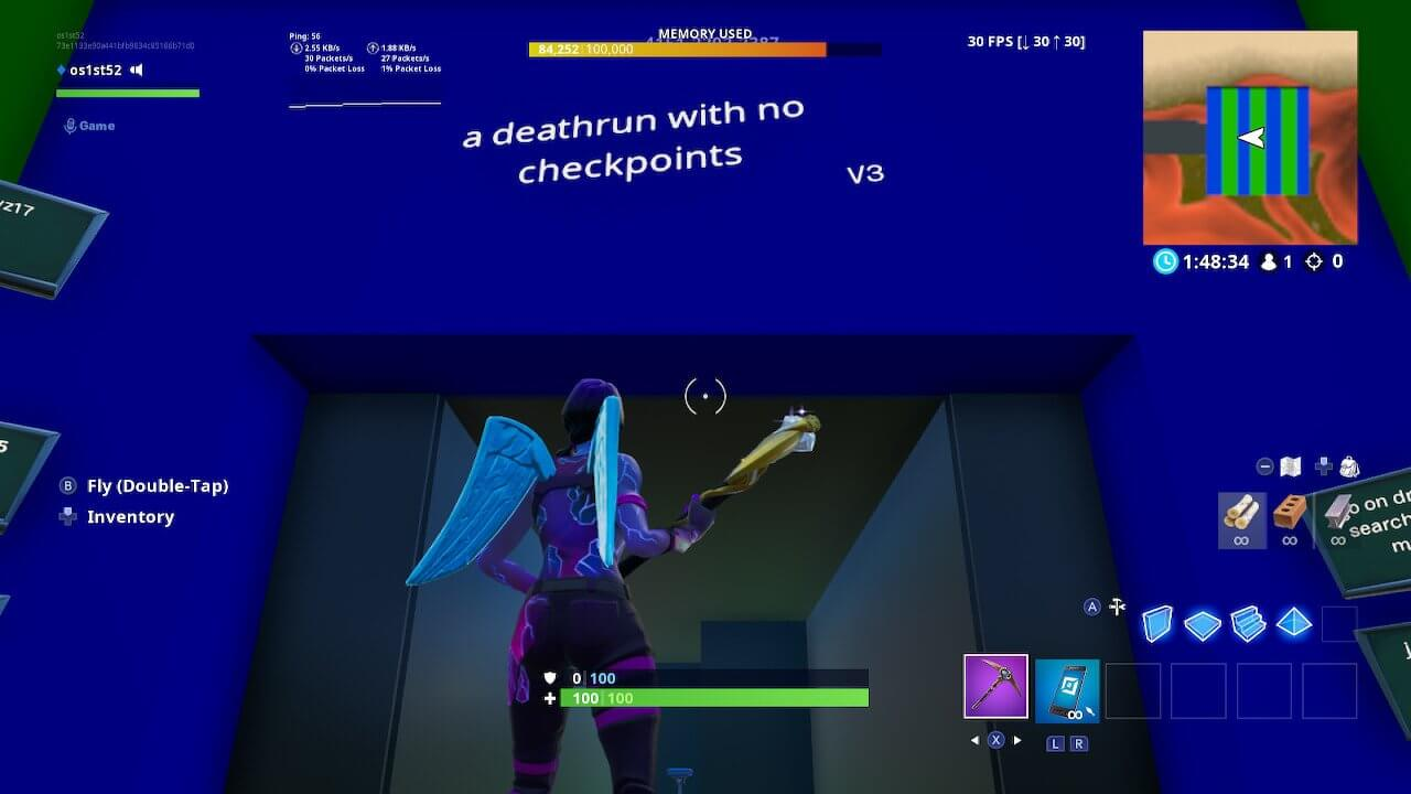 NO CHECKPOINT DEATHRUN V3
