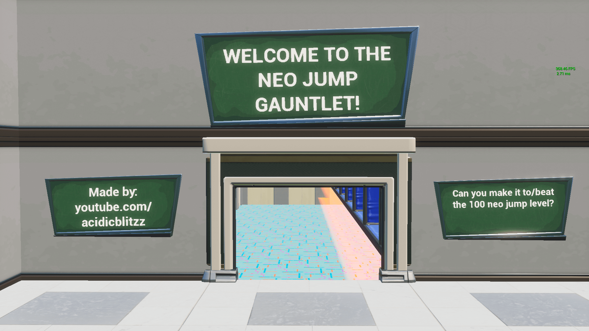 THE NEO JUMP GAUNTLET!