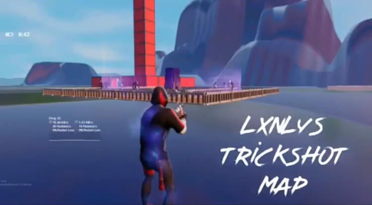 BK X LXNLY TRICKSHOT MAP