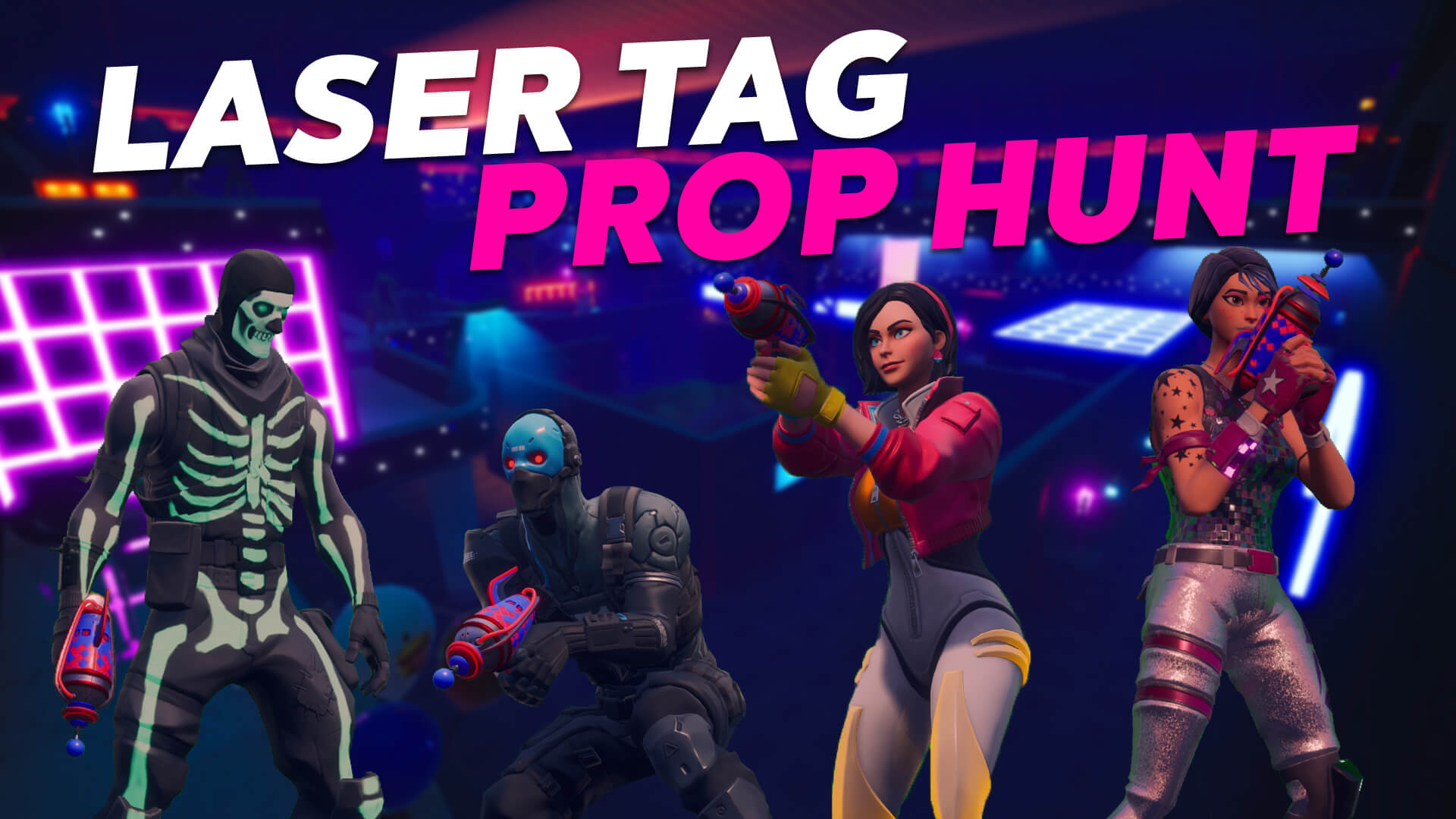 LASER TAG PROP HUNT