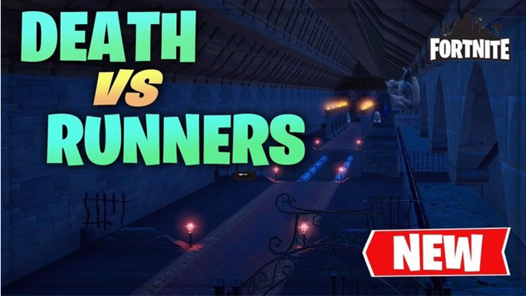 DEATH VS RUNNERS  [HAUNTED THEME]