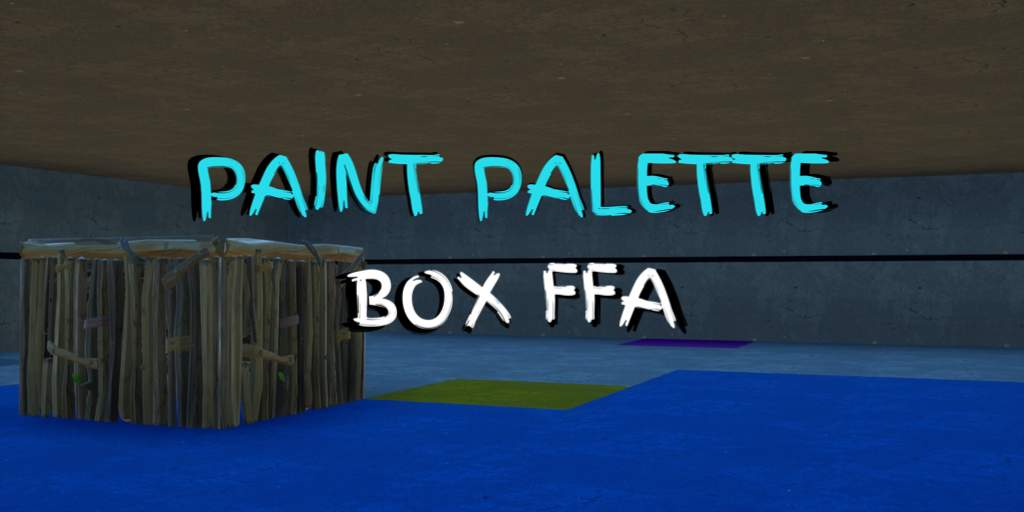 PAINT PALETTE BOX FFA