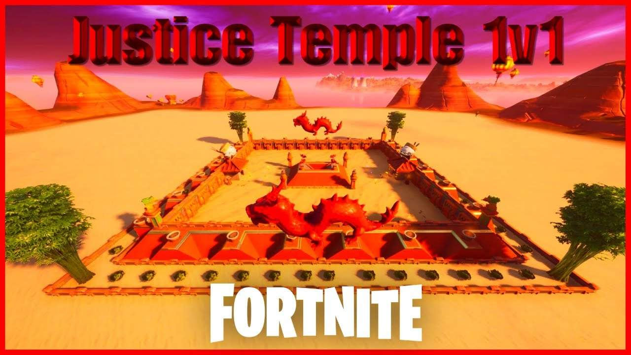 JUSTICE TEMPLE 1V1 MAP