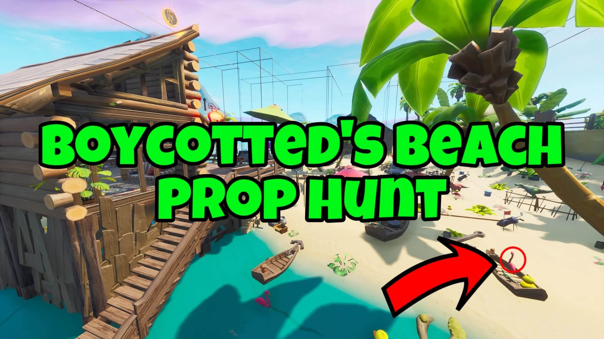 BOYCOTTED'S BEACH PROP HUNT!