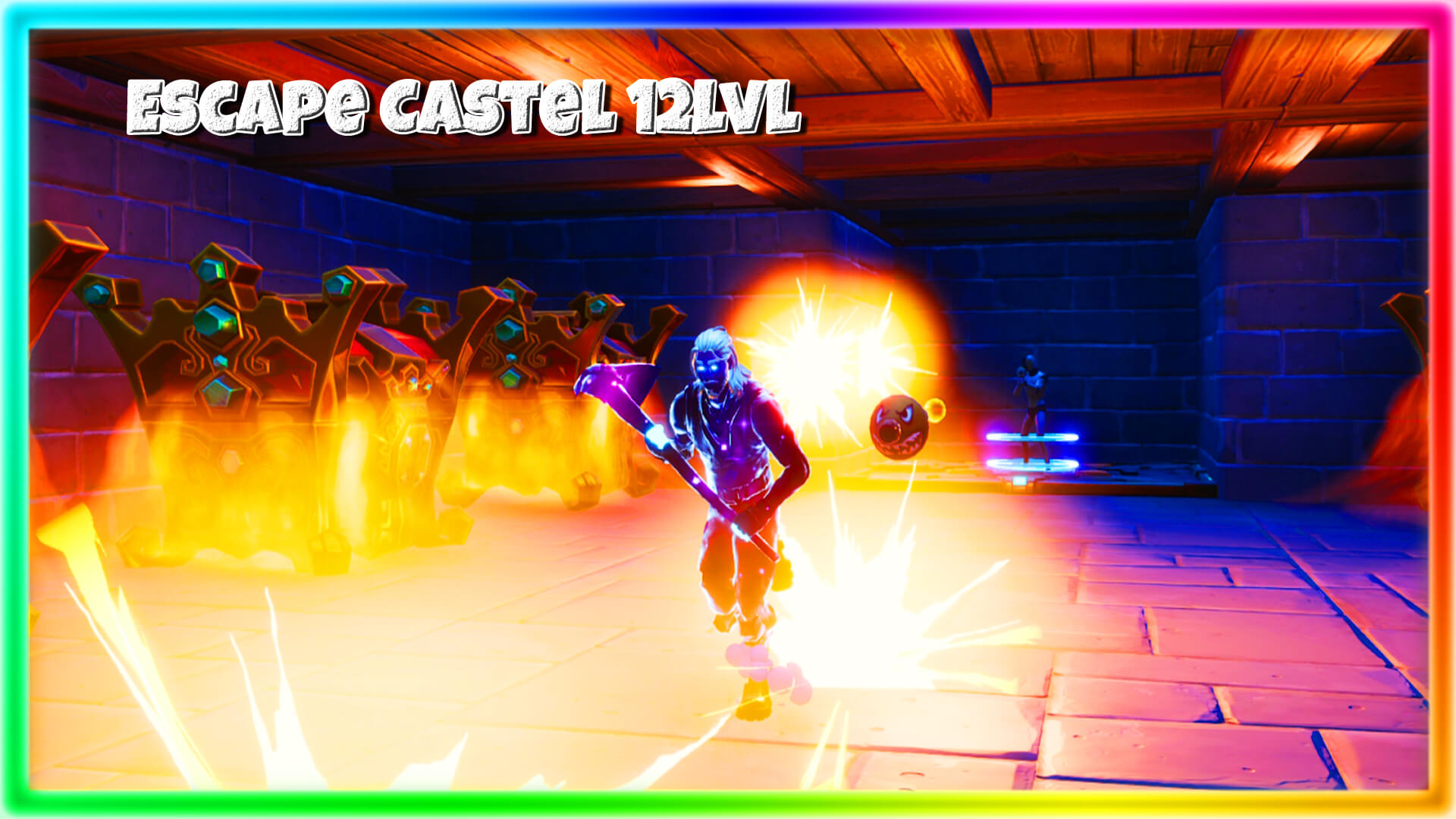 ESCAPE CASTEL 12 LVL