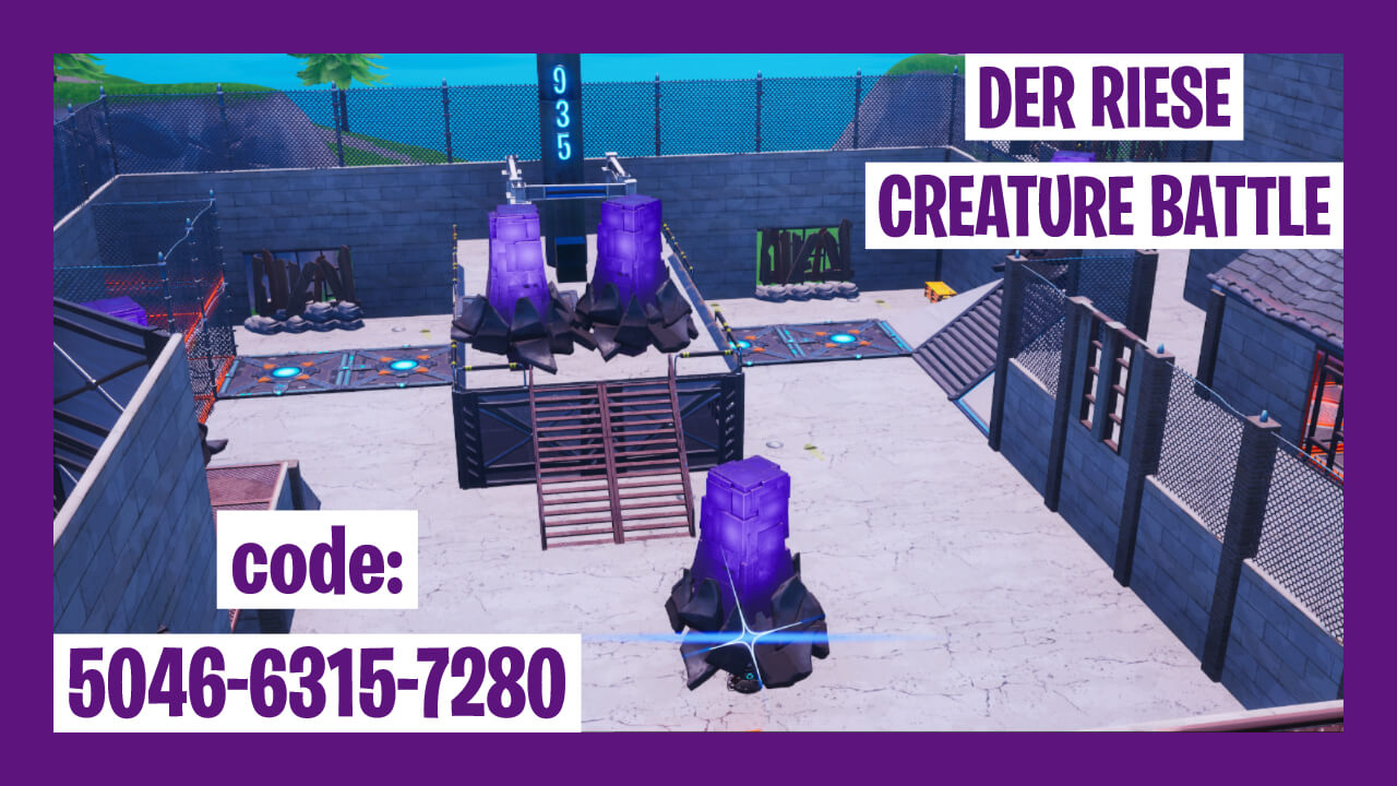 DER RIESE CREATURE BATTLE