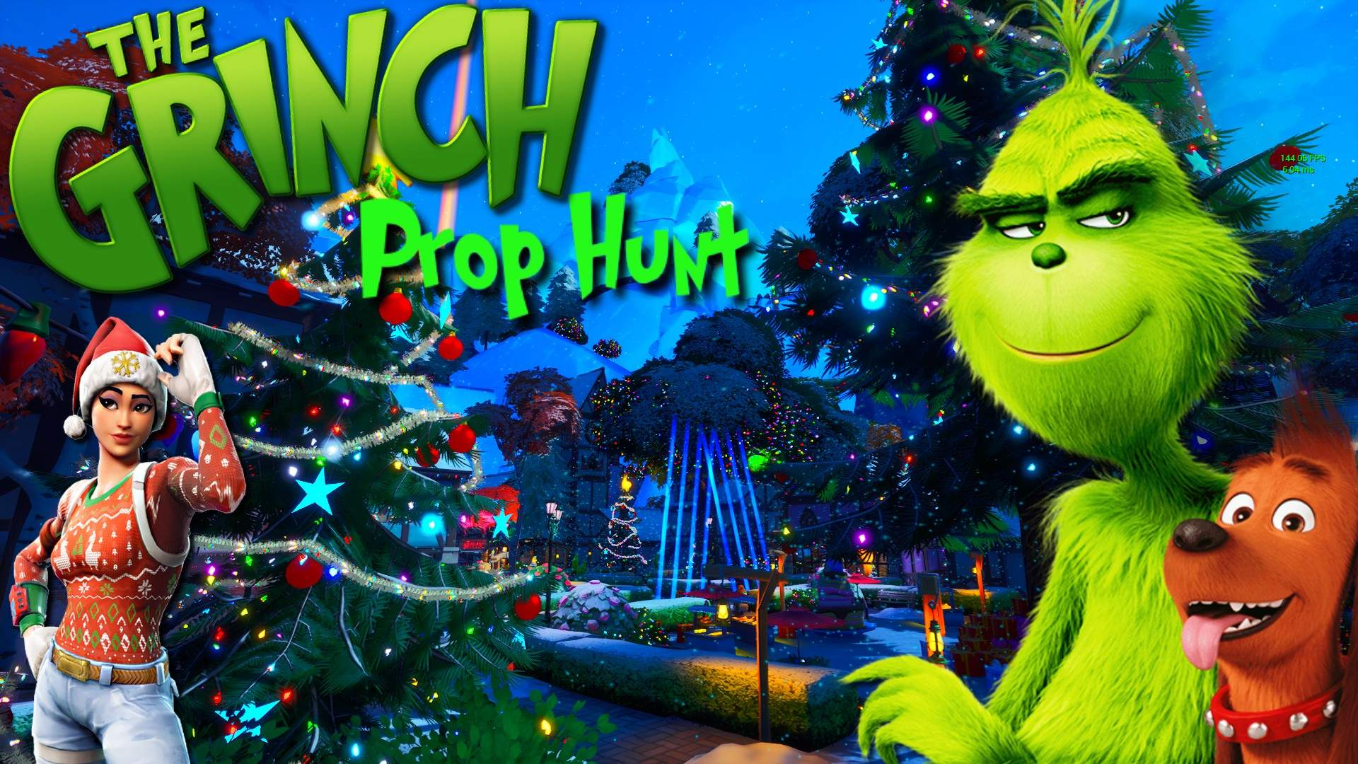 GRINCH -PROP HUNT