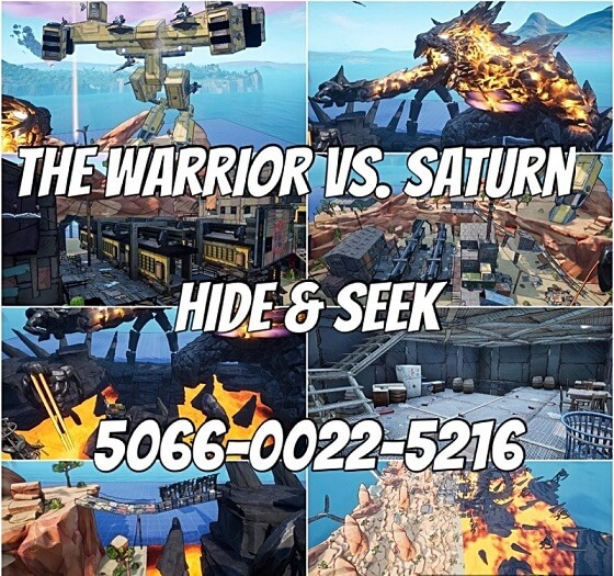 THE WARRIOR VS. SATURN- HIDE AND SEEK