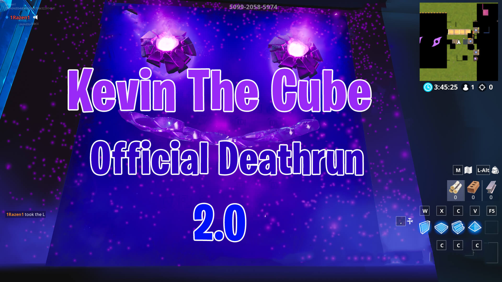KEVIN THE CUBE OFFICIAL DEATHRUN 2.0