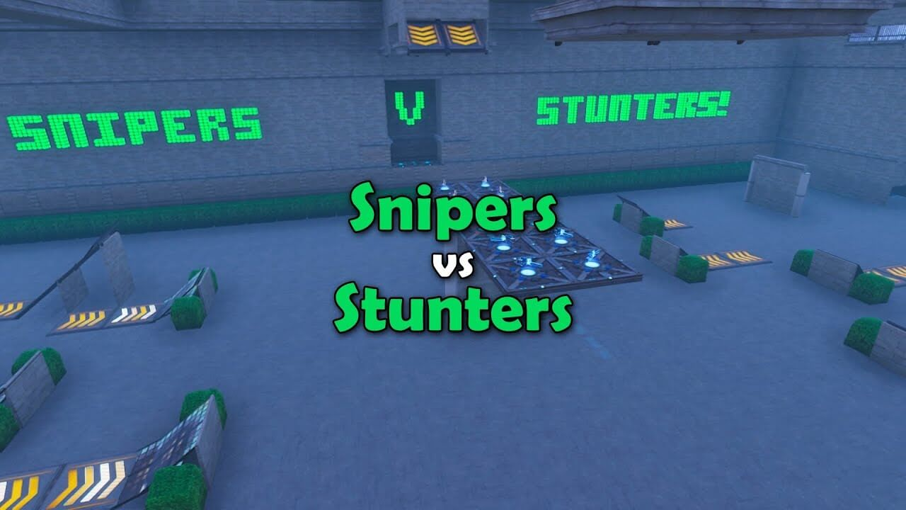 SNIPERS VS STUNTERS!