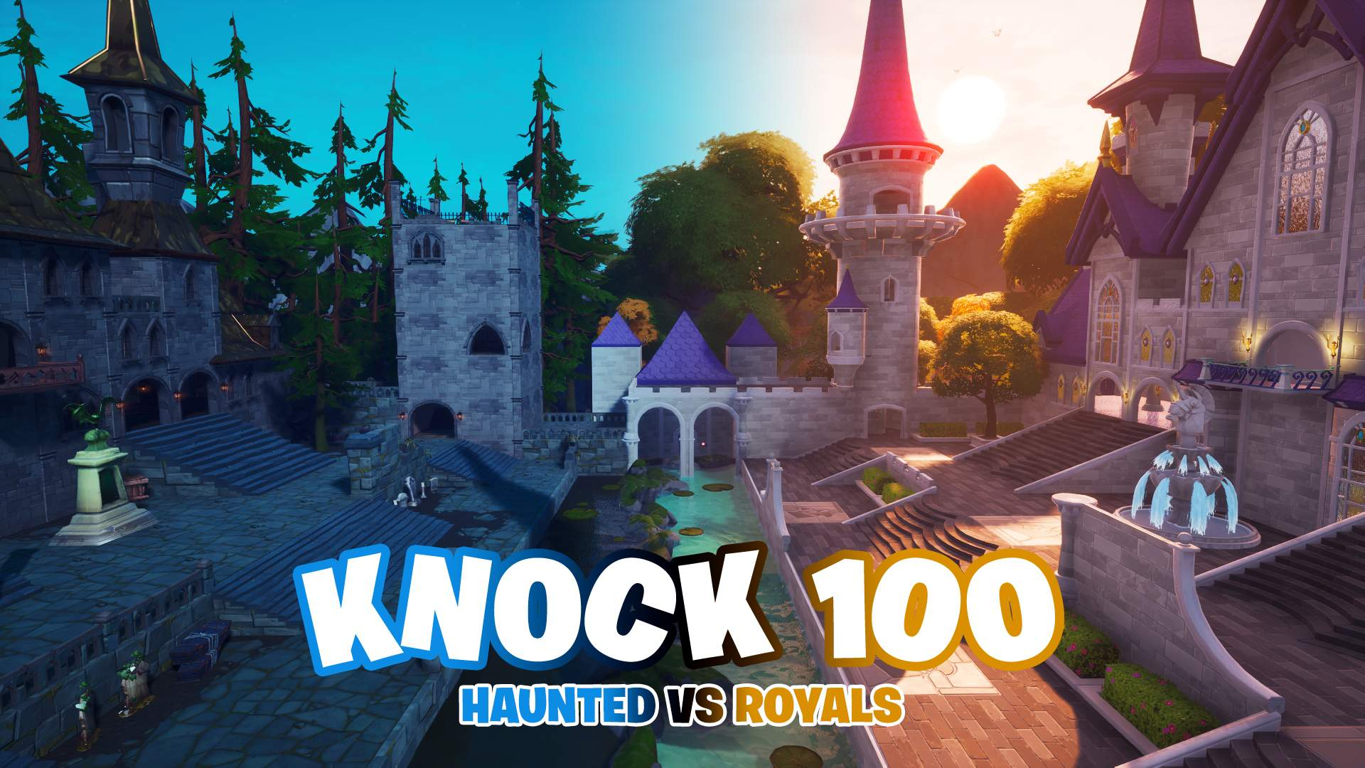 KNOCK 100 - HAUNTED VS ROYALS