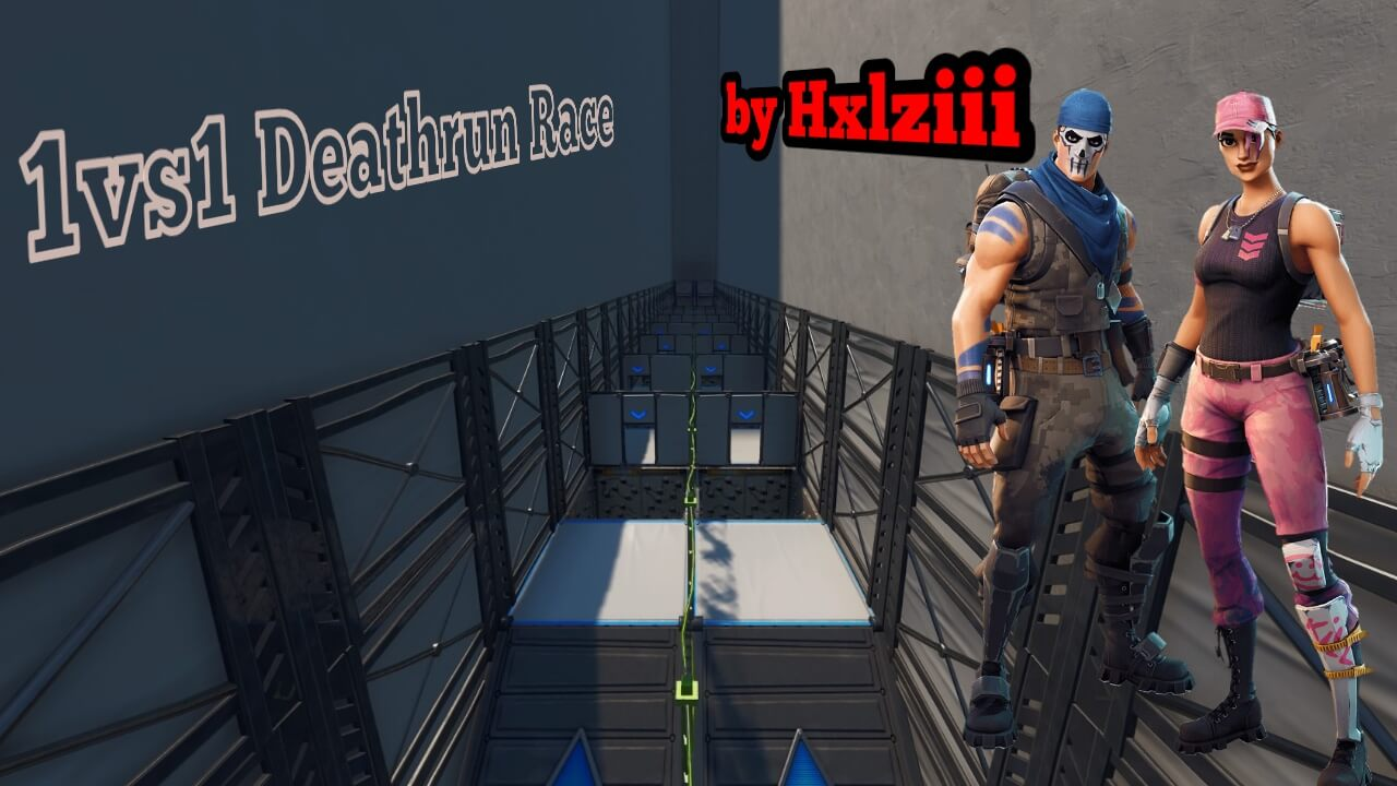 1VS1 DEATHRUN RACE BY HXLZIII
