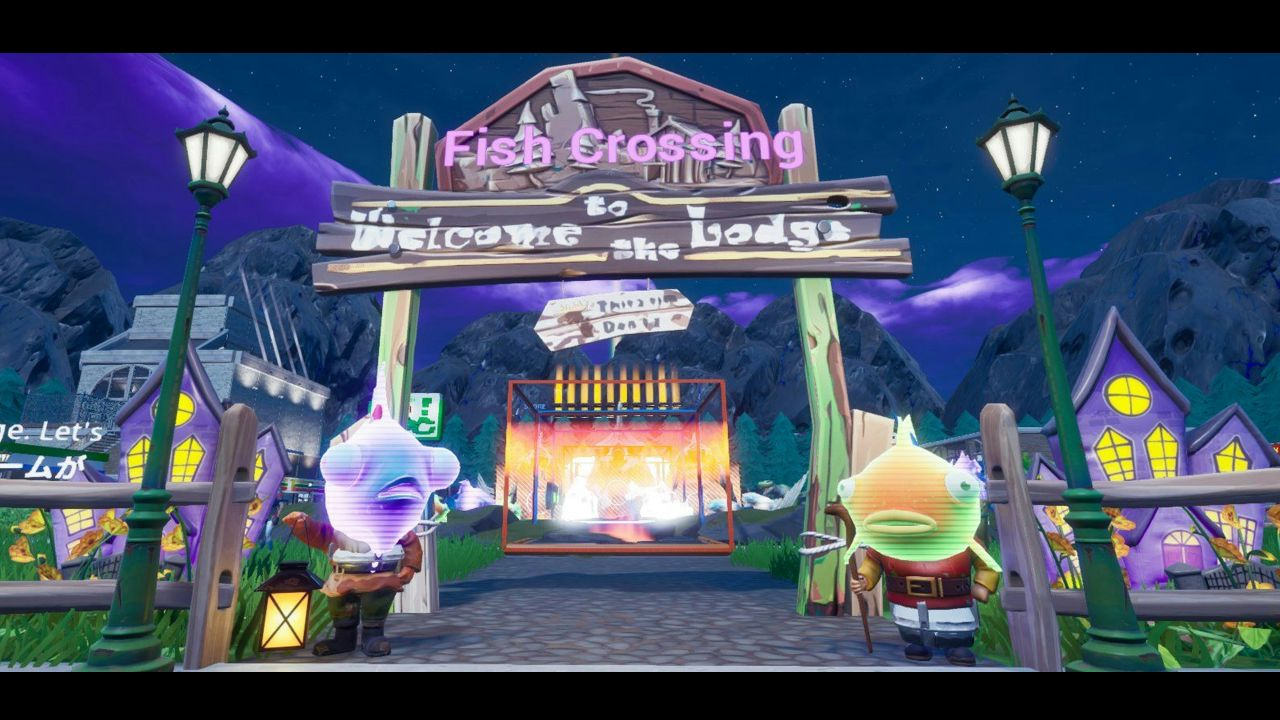 FISH CROSSING: NEW VILLAGE