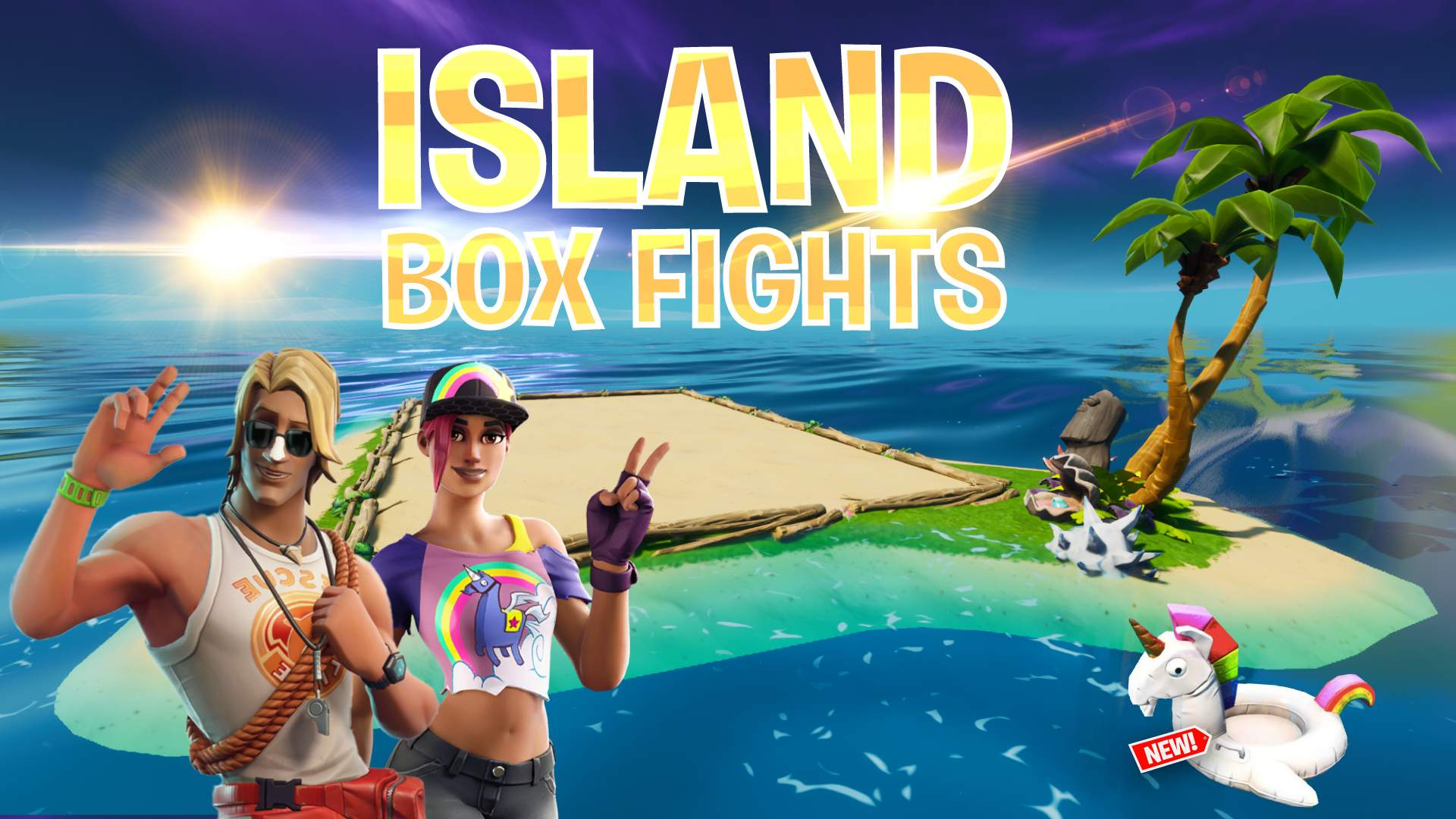 ISLAND BOX FIGHTS - WAGER MATCHES