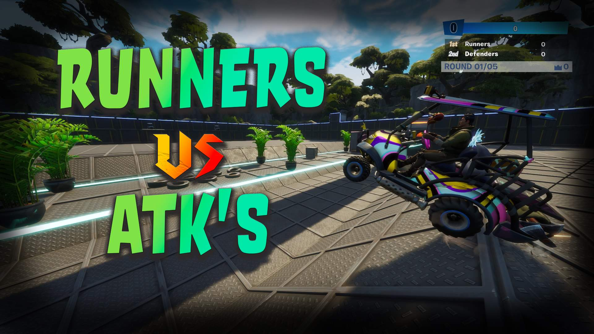 RUNNERS VS ATK