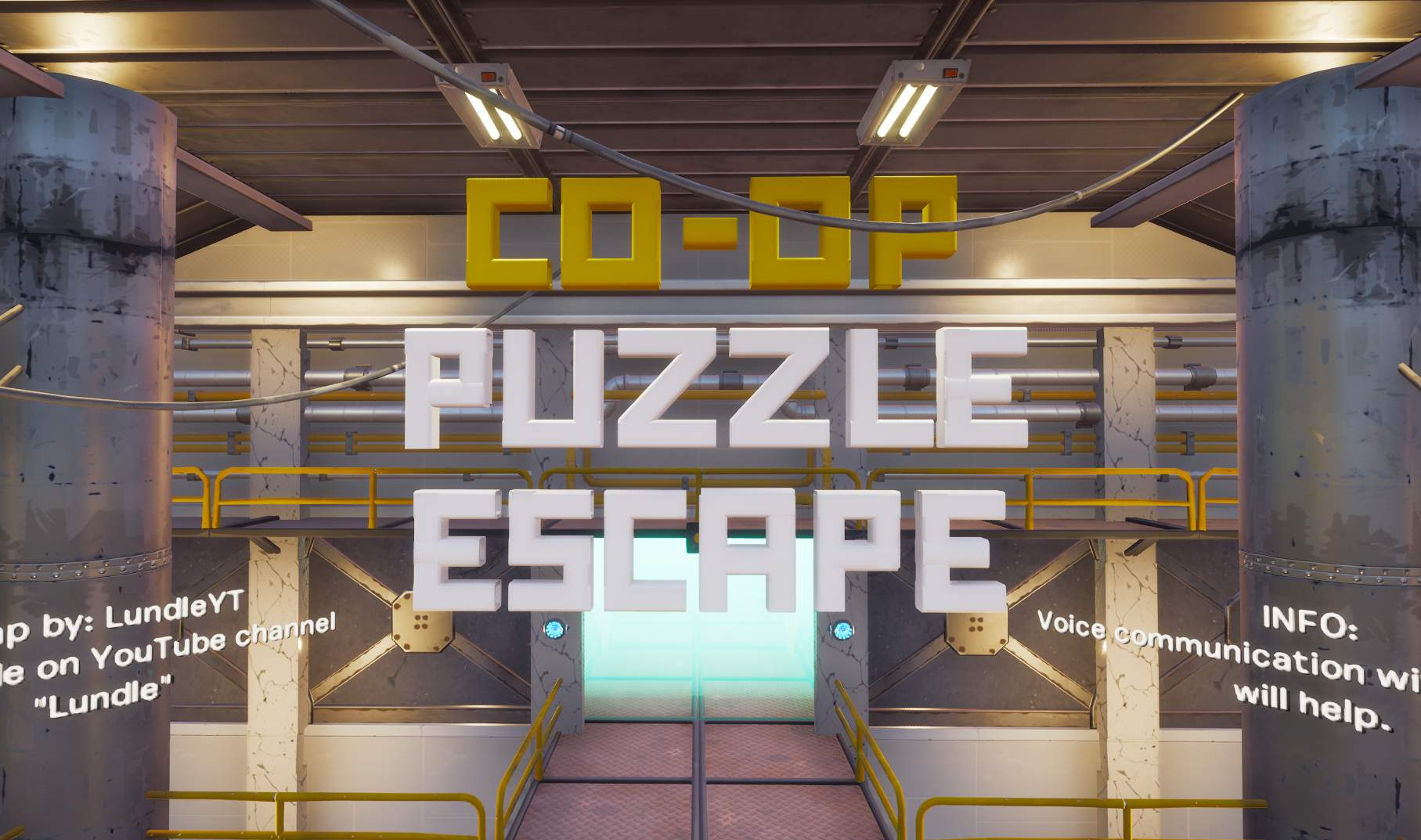 CO-OP PUZZLE ESCAPE