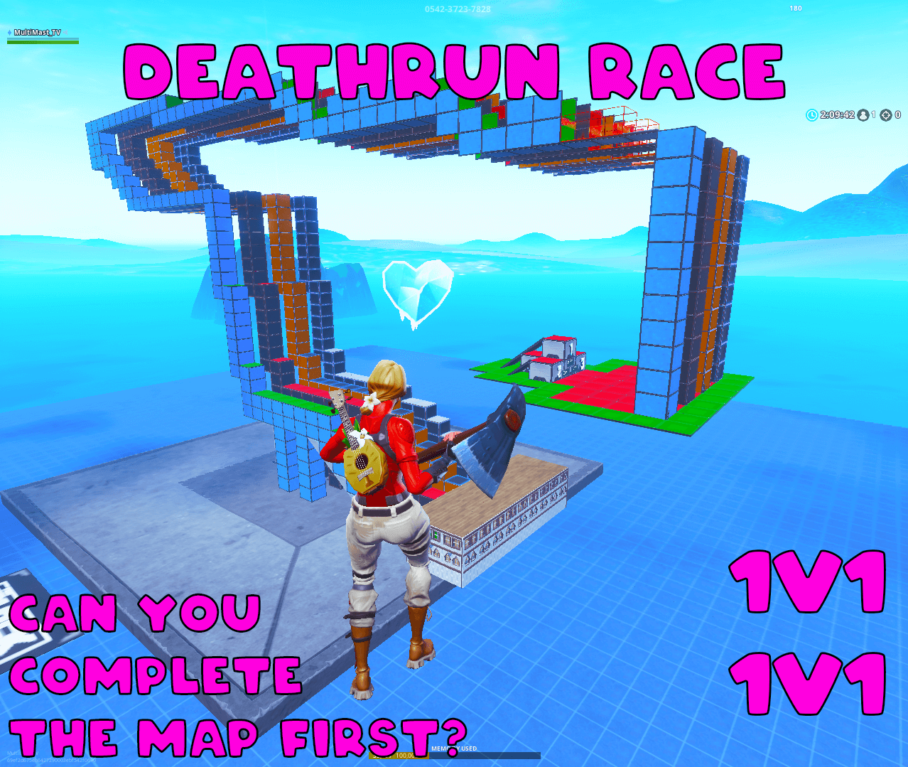 THE ULTIMATE 4 PERSON DEATHRUN RACE